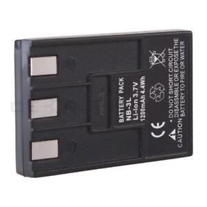 NB-3L NB3L Battery for Canon Powershot SD10 SD100