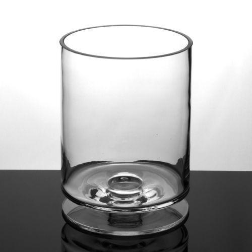 Tall Glass Tealight Holders Ebay