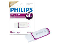 NEW SEALED 64GB PHILIPS USB 3.0 MEMORY STICK AUTHENTIC RRP £13 LEICESTER