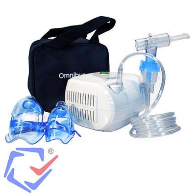 Inhaliergerät Inhalator Inhalation Inhaler Aerosol Vernebler Kompressor Omnibus