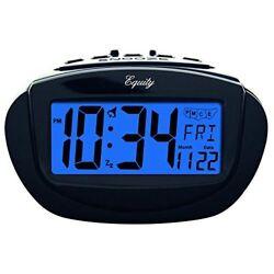 Equity by La Crosse 31022 Insta-Set LCD Alarm Clock