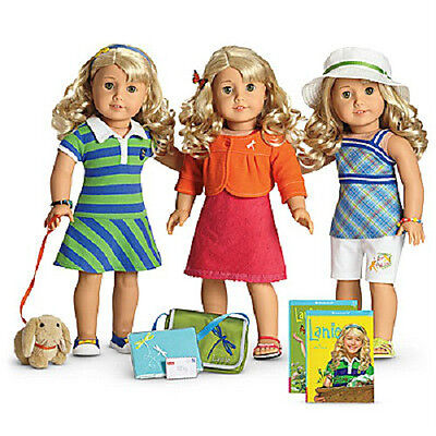 American Girl Doll LANIE'S STARTER COLLECTION Butterfly Outfit Accessories SET +