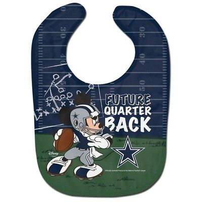 DALLAS COWBOYS MICKEY MOUSE BABY BIB DISNEY NFL OFFICIALLY LICENSED ](Dallas Cowboys Baby)