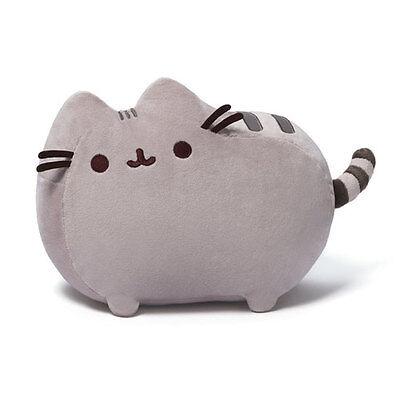 Gund New *  Pusheen * Cat 12-Inch Plush Plushie Kitty Tabby Stuffed Animal Grey