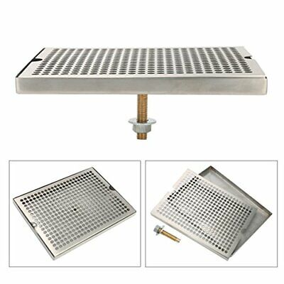 Stainless Steel 12 X 7 Surface Mount Beer Drip Tray No Drain-us Stock