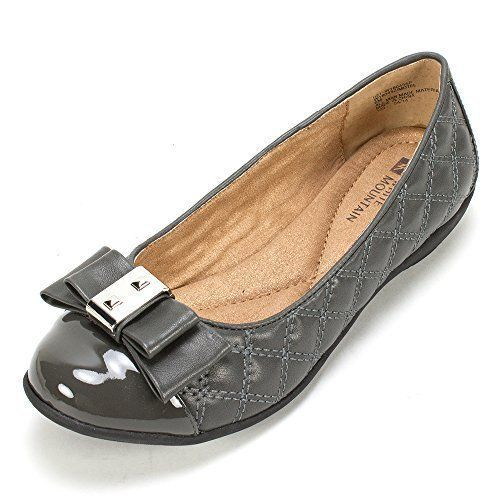White Mountain Women's Flats Shoes Motel Quilted Ballerina 5.5M