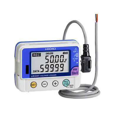 Hioki Lr5041-20 1-ch Voltage Logger -50 Mv Dc Up To 60000 Readings