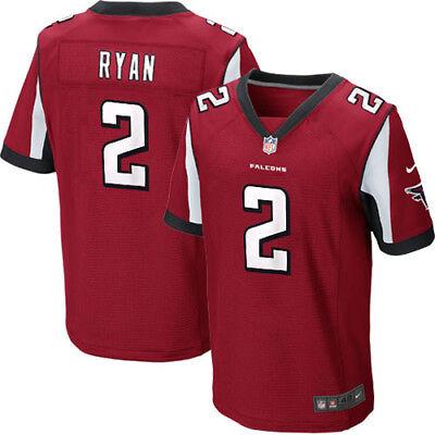 RYAN camiseta de la NFL Falcons color roja.Tallas XS,S,M,2XL.