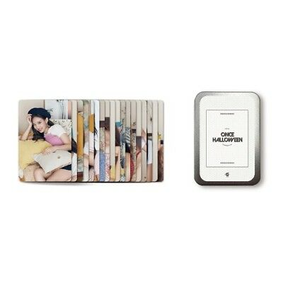 TWICE PHOTOCARD SET TWICE FANMEETING ONCE HALLOWEEN OFFICIAL MD](Halloween Photo Card)