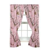 Pink Camo Curtains
