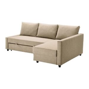 Ikea couch/sectional( beige)