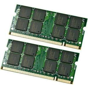2 x 2GB = 4GB DDR2 PC2-6400 Laptop Memory Ram Sticks West Island Greater Montréal image 1
