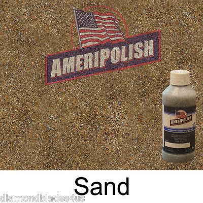 1 Gl. Sand Concrete Color Dye 4 Cement Stain Ameripolish Solvent Based