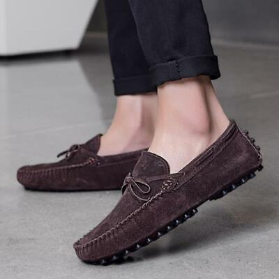 Mens Pumps Slip on Loafers Shoes Driving Moccasins Flats Soft Comfy Breathable