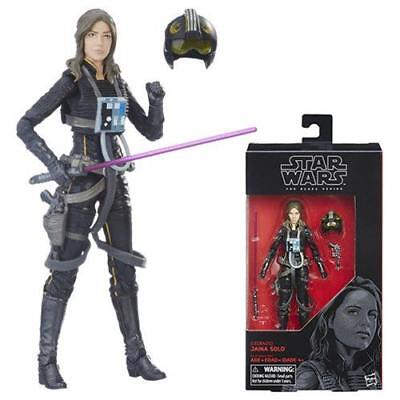"""Star Wars The Black Series 6"""" JAINA SOLO #56 - Wave 14 - 2017 Figure In-Stock"""