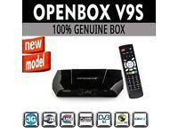 OPENBOX V9S DIGITAL FREESAT PVR FULL HD TV SATELLITE RECEIVER BOX GENUINE WIFI