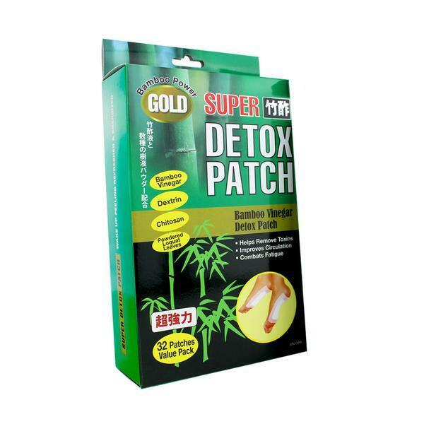 U.s. Jaclean Gold Bamboo Power Foot Detox Patch (32 Patch...
