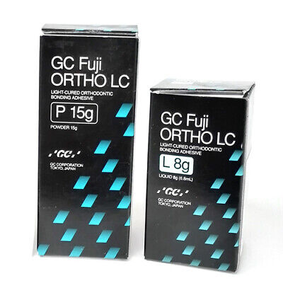 Gc Fuji Ortho Lc Light-cured Resin Reinforced Orthodontic Cement