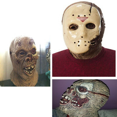 Friday The 13th Part 7 New Blood Jason Voorhees Deluxe Overhead Mask (Deluxe Jason Voorhees Maske)