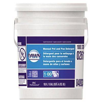 Proctor &gamble Dawn Manual Pot and Pan Dish Wash Detergent Blue 5gal Liquid Gamble Dawn Dishwashing Liquid