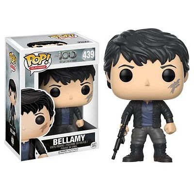 "FUNKO POP 2017 TELEVISION THE 100 BELLAMY #439 Vinyl 3 3/4"" Figure IN STOCK"