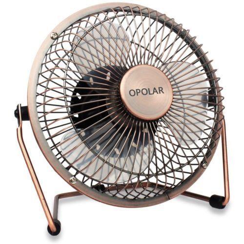 opolar f505 6 desktop usb fan new
