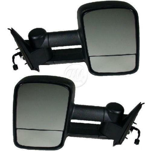 02 chevy tow mirrors ebay. Black Bedroom Furniture Sets. Home Design Ideas