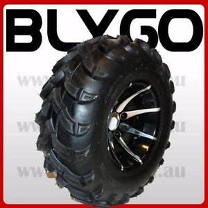 "25X10- 12"" inch Rear ALLOY Wheel Rim + INNOVA Tyre Tire Quad Dirt Braeside Kingston Area Preview"