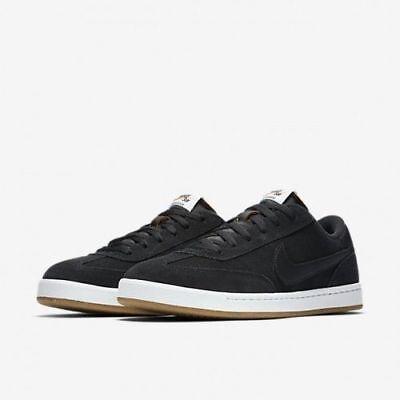 Nike SB FC Classic 909096-001 Black White Men's SZ 10.5  Skateboarding Shoes