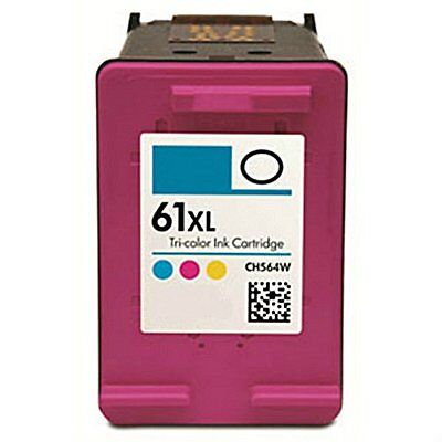 1 Pack Compatible for HP 61XL CH564WN Color Ink Cartridge Deskjet 3510 3511