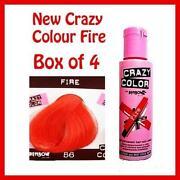 Crazy Colour Fire Red