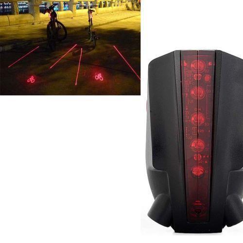 fahrrad laser beleuchtung reflektoren ebay. Black Bedroom Furniture Sets. Home Design Ideas