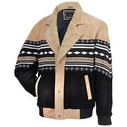 Mens Sheep Leather Jacket