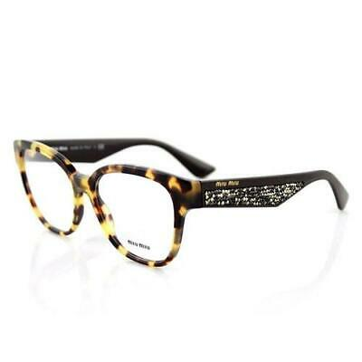 Miu Miu Eyeglasses MU 06OVA 7S0 1O1 Light Havana 54-17-140 #26