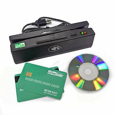Usb Pcsc 4 In 1 Magnetic Card Reader Emv Chipnfcpsam Card Reader Writer