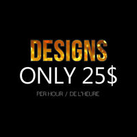 Web / graphic designer freelancer to be hired ONLY 25$ / HOUR