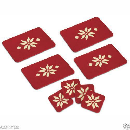 Christmas Placemats And Coasters Ebay