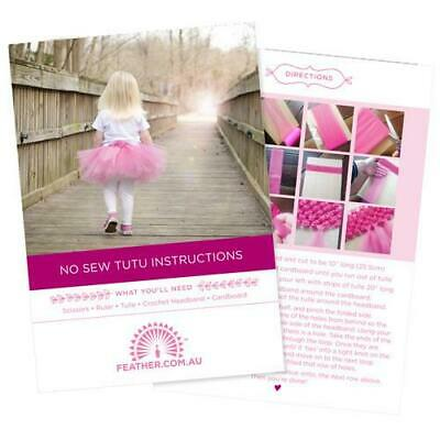 Wholesale Tutu Supplies (New No Sew Tutu Pack - Wholesale Feathers & Craft)