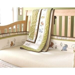Baby bedding set with mobile and crib sheets