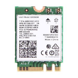 8265NGW Intel Wireless AC 8265 WiFi Bluetooth NGFF LAN Card 802 11ac