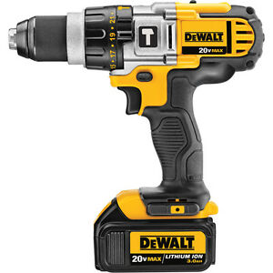 ///// PERCEUSE DEWALT MARTEAU 1/2 20 VOLTS 3 A/H AU LITHIUM //// West Island Greater Montréal image 1