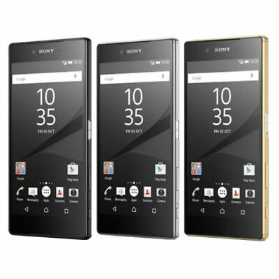 Sony Xperia Z5 Premium E6853 32GB 23MP Unlocked Smartphone Black Chrome Gold