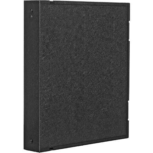 """Vue-All Archival Safe-T-Binder with 1"""" O-Ring (Black)"""