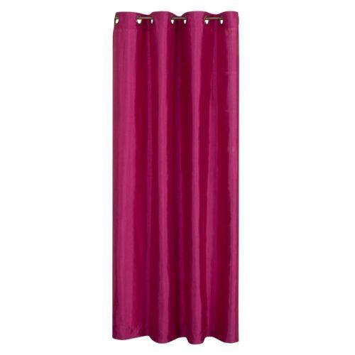 Pottery Barn Pink Curtains