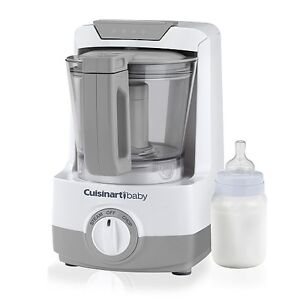 Cuisinart 2-IN-1 Baby Food Maker and Bottle Warmer