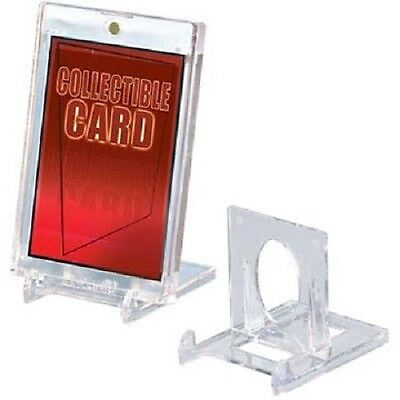 (5) Ultra Pro CARD HOLDER STANDS **2 Piece Display Stand** Adjustable