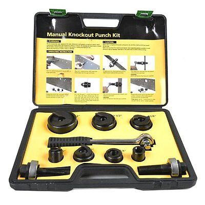 Iwiss Protable Manual Knockout Punch Kit For 123411-141-122
