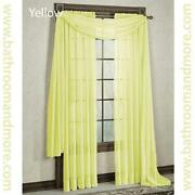 Solid Yellow Curtains