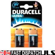 9V Battery Duracell Ultra