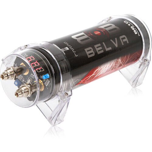 Belva 1.0 Farad Capacitor 1.0 Farad Capacitor with Digital Red Display